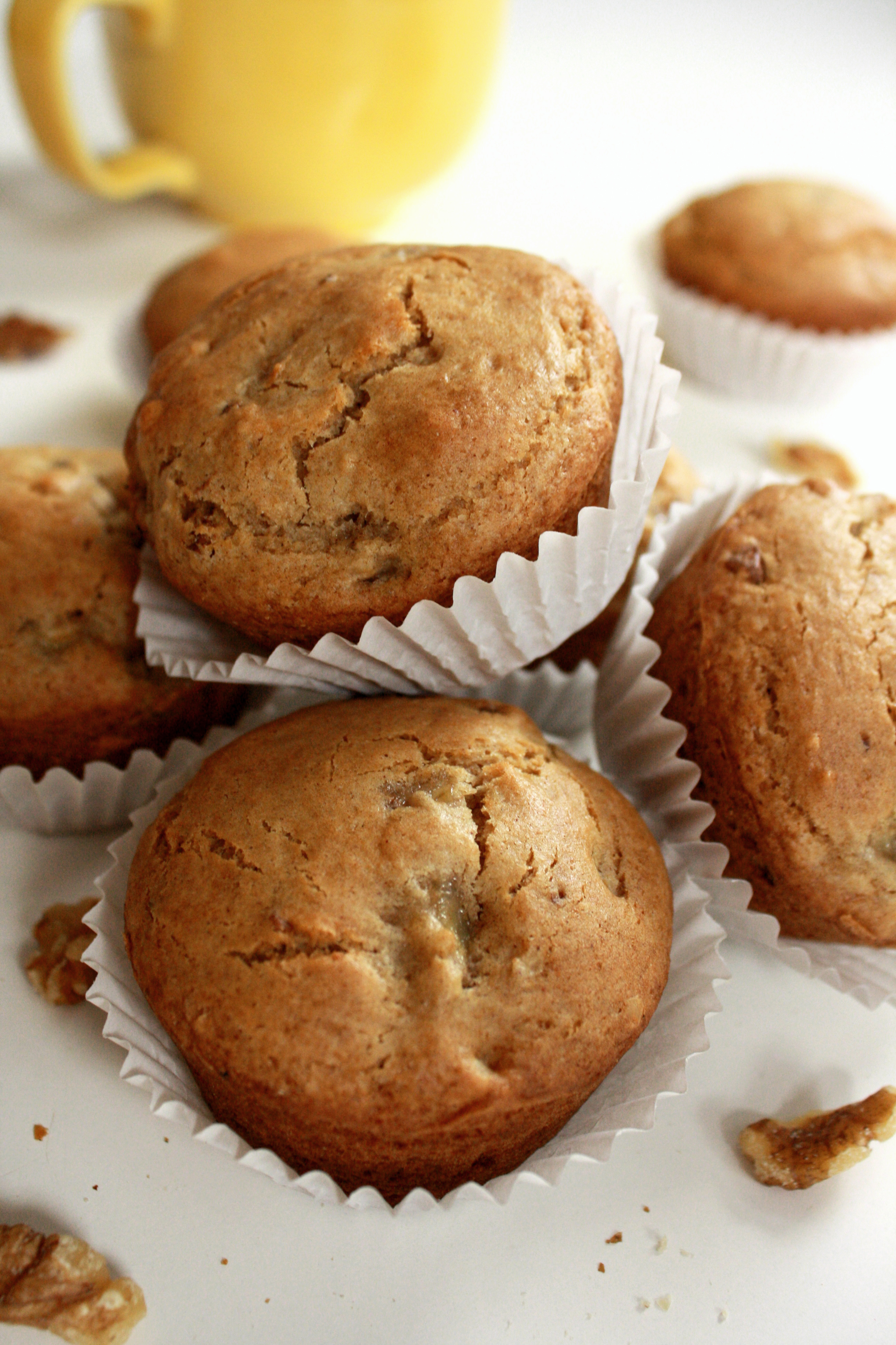 Banana Nut Muffins | Cakes 'n' Bakes