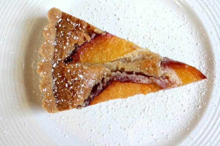 Gluten-Free Peach and Almond Tart