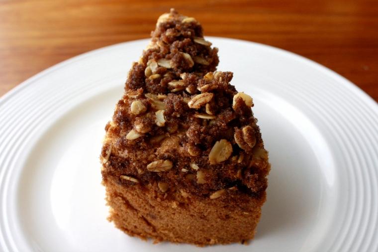 Gluten-Free Rhubarb Coffee Cake