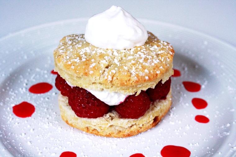 Gluten-Free Raspberry Biscuit Shortcake