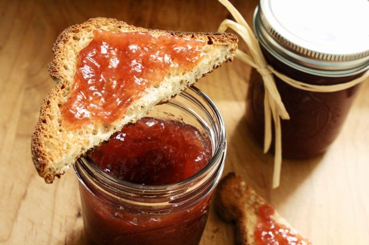 Gluten-Free Vanilla Rhubarb Jam
