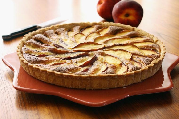 Gluten-Free Nectarine Almond Tart