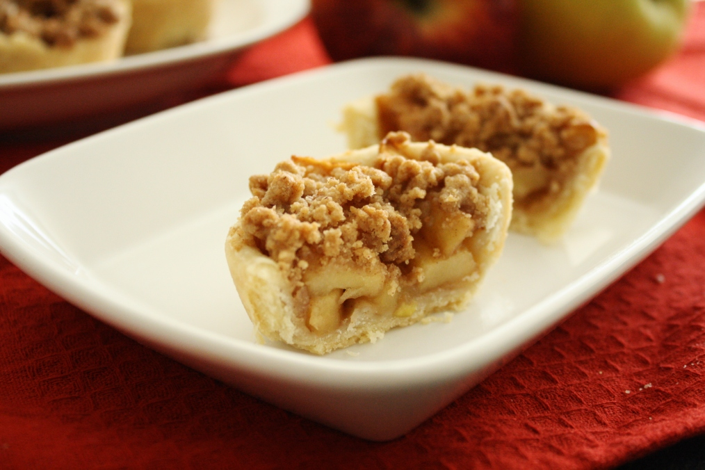 Gluten-Free Mini Apple Crumble Pies