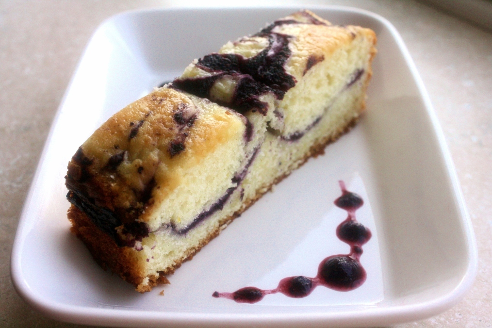 Gluten Free Blueberry Lemon Cake