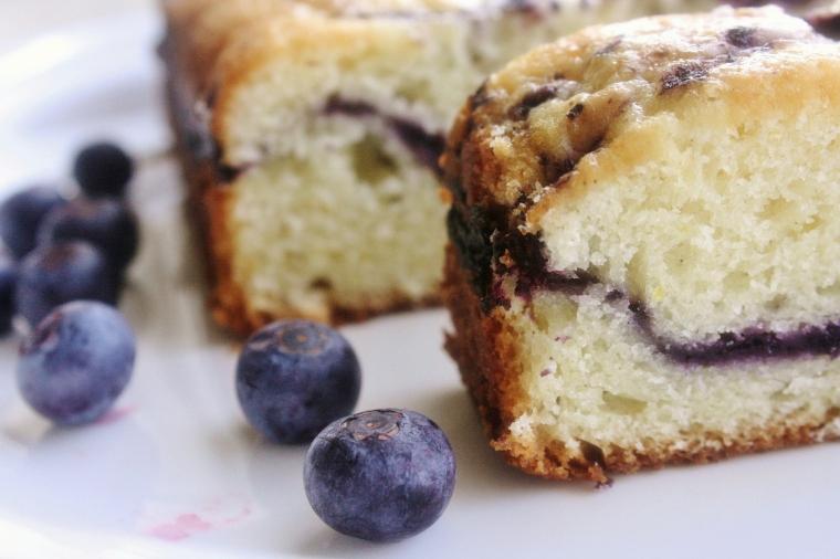 Gluten Free Blueberry Lemon Cake