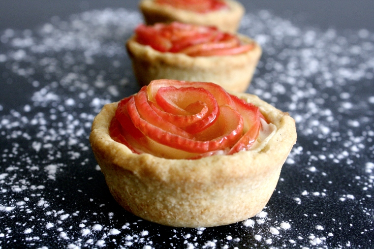 Gluten-Free Apple Rose Tartlets