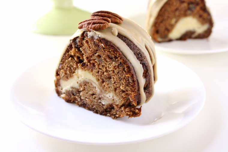Gluten-Free Apple Cream Cheese Bundt Cake