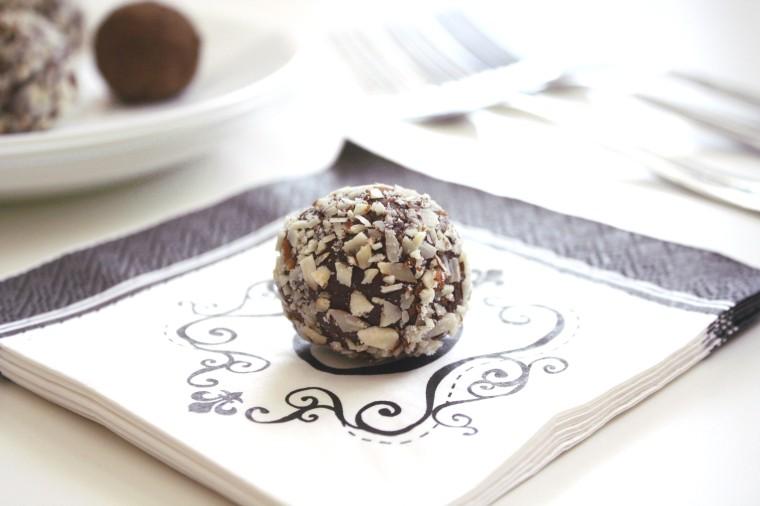 Dark Chocolate Balsamic Truffles