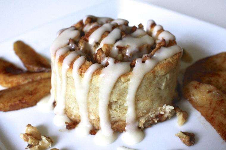 Gluten-Free Apple Walnut Cinnamon Rolls