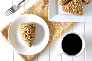 Gluten-Free Banana Maple Walnut Scones