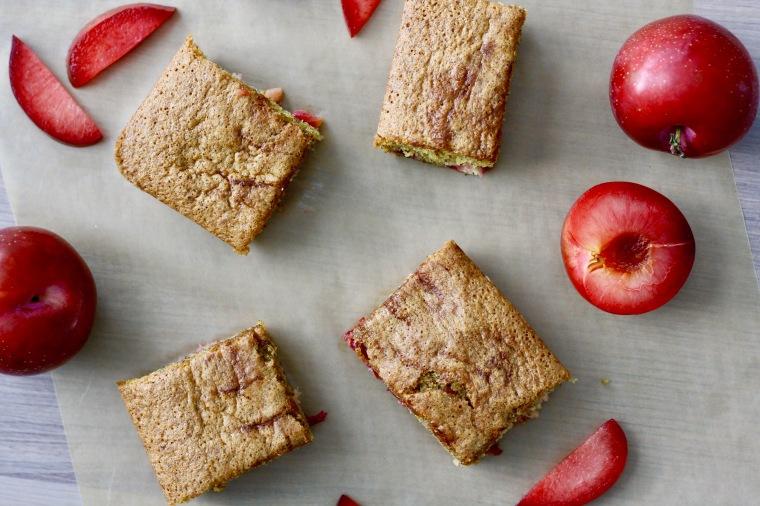 Gluten-Free Plum Cardamom Cake